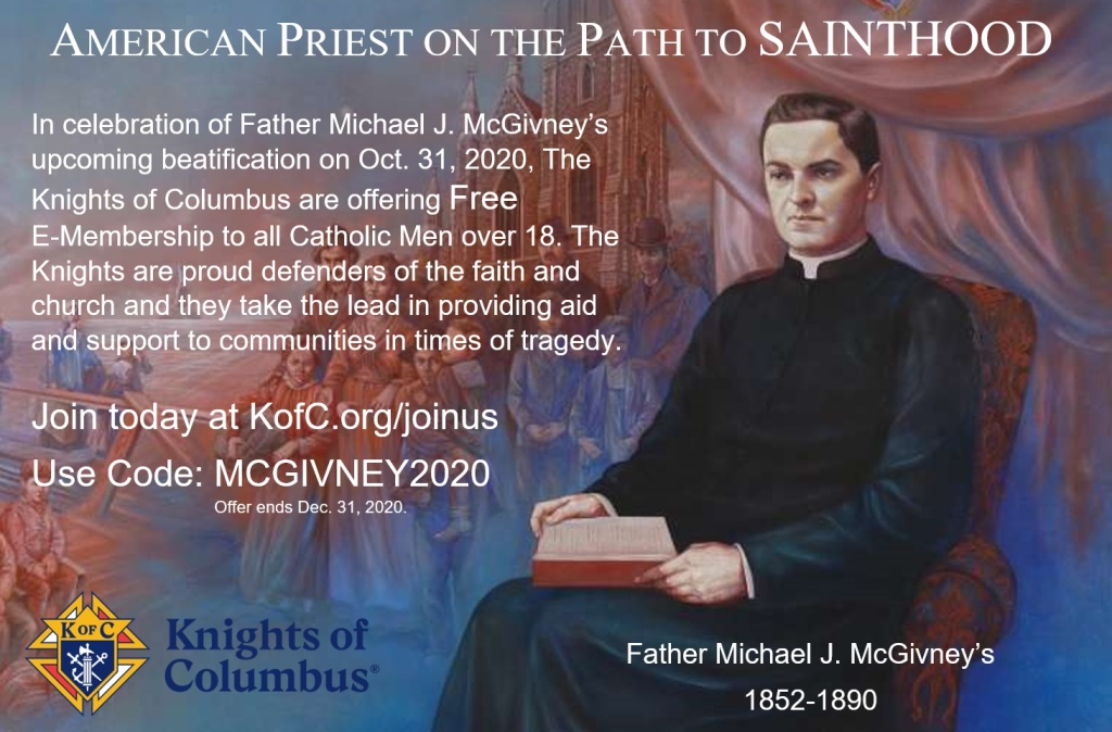American Priest on the Path to Sainthood | Knights of Columbus-Beatification on October 31, 2020